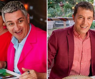 My Kitchen Rules' Sal and Chris: Love at first sight
