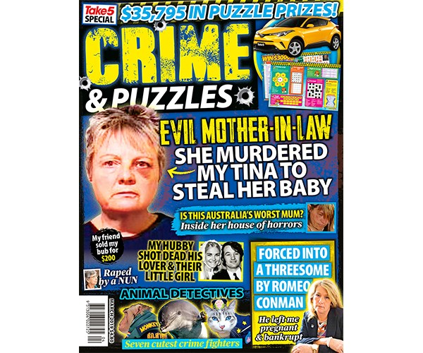 Take 5 Crime & Puzzles Entry Coupon on sale 25/2