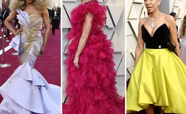 The WILDEST red carpet fashion moments from the 2019 Oscars