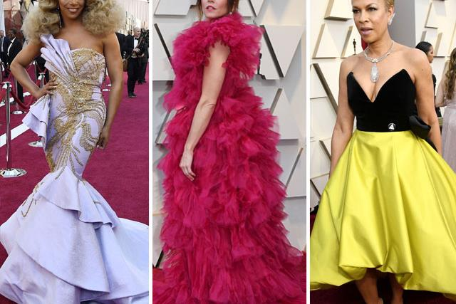 Oscars 2019 bad fashion