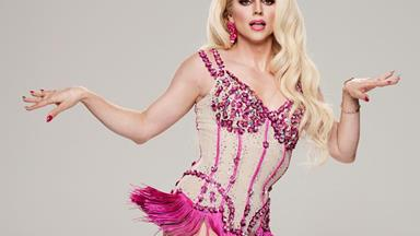 How Dancing With The Stars' Courtney Act transforms herself into a drag queen