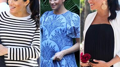 Duchess Meghan wore three different outfits in Morocco today and we can't decide which one we love more