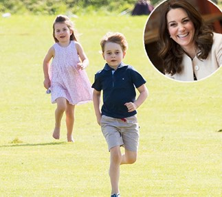 Duchess Catherine, Prince George, Princess Charlotte