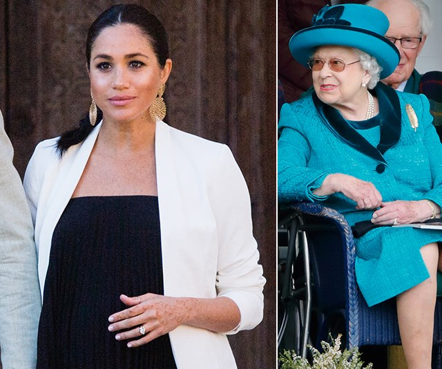 The Queen just broke her silence on Duchess Meghan's latest public appearances