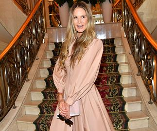 Elle Macpherson takes a tumble at the Vienna Opera Ball