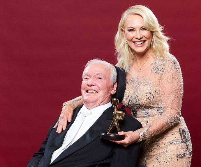 Stars pay tribute to Kerri-Anne Kennerley's late husband John