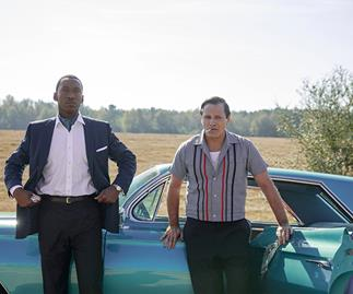 Green Book starring Mahershala Ali and Viggo Mortensen, Oscar winner for Best Picture at the 2019 Academy Awards.