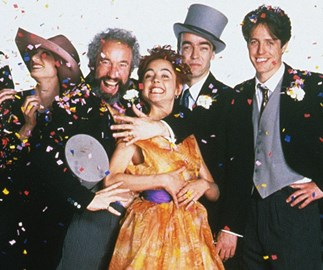 FIRST LOOK: Four Weddings and a Funeral cast reunite for Red Nose Day sequel
