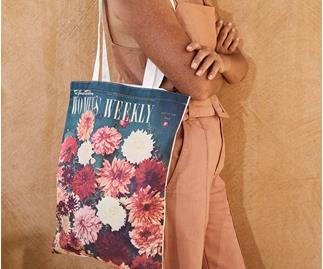 The Australian Women's Weekly Magazine Tote Bag