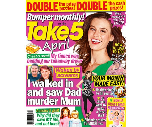 Take 5 Bumper Monthly April Issue
