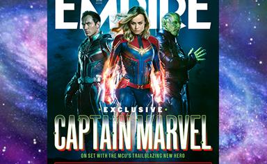 Captain Marvel EXCLUSIVE: Brie Larson & Samuel L. Jackson tell-all in new interview