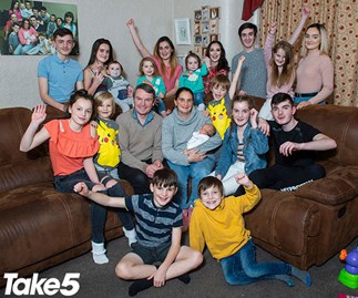 """REAL LIFE: """"I have 21 kids!"""""""