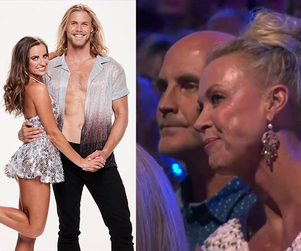 Lisa Curry and Grant Kenny join forces to cheer on son Jett Kenny on Dancing With The Stars