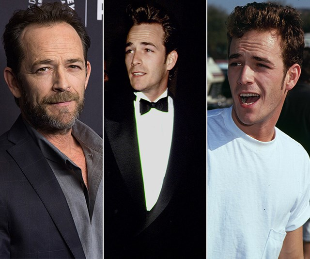 Celebrating a screen legend: Actor Luke Perry's life and career in pictures