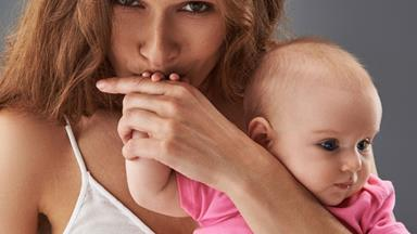 How do I stop people kissing my baby?