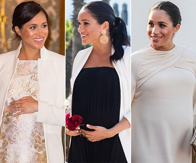 Duchess Meghan's best maternity fashion moments