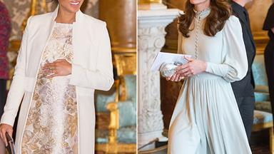 Duchess Meghan and Duchess Catherine just stepped out together in a dazzling display