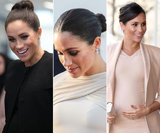 Queen of the chignon: Meghan Markle's best slicked-back hairstyles