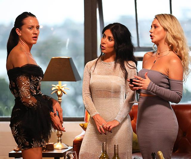 Ines, Martha and Jessika were labelled the 'mean girls' of *MAFS* in 2019.