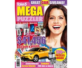 Mega Puzzler Issue 38