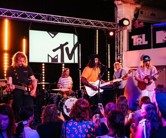 Ocean Alley lead first episode of TRL on MTV Australia
