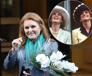 Sarah Ferguson just shared a touching tribute to Princess Diana in an unexpected way