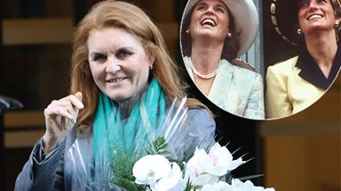 Sarah Ferguson shares a touching tribute to Princess Diana