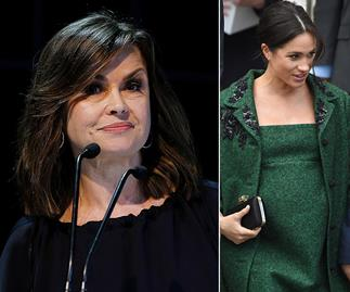 """Lisa Wilkinson just dropped a BIG opinion bomb about Meghan Markle: """"I think she married into the wrong family"""""""