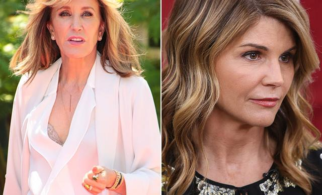 Desparate Housewives star Felicity Huffman and Full House actress Lori Loughlin charged in cheating scam