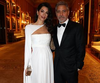George and Amal Clooney bring their A-list glamour to Buckingham Palace