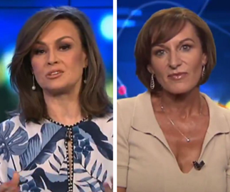 Lisa Wilkinson and Cassandra Thorburn's awkward reunion on The Project