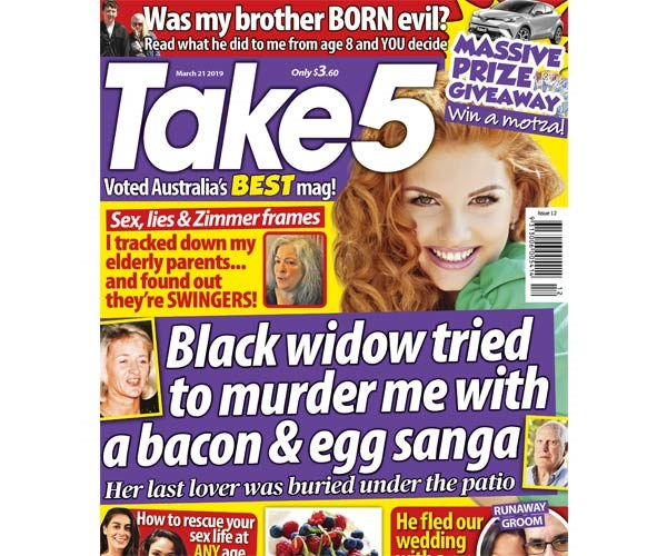 Take 5 Issue 12 Coupon - on sale now!