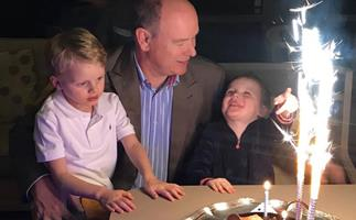 Monaco royal family's adorable low-key celebration for Prince Albert's birthday