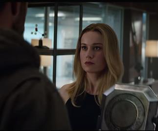 Avengers: Endgame trailer, Captain Marvel, Brie Larson, Chris Hemsworth, Thor