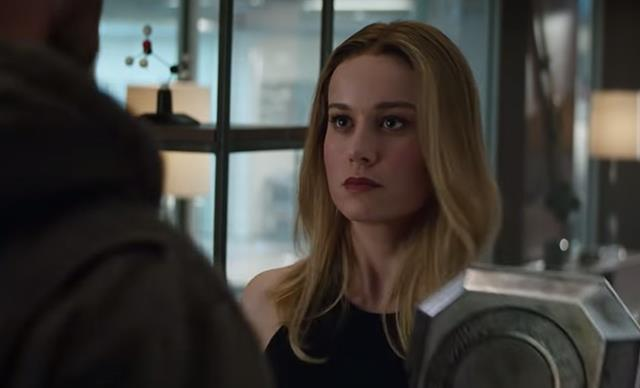 Avengers: Endgame trailer, Captain Marvel, Brie Larson, Chris Hemsworth, Thor