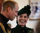 Duchess Catherine and Prince William put on a PDA-packed show for St Patrick's Day