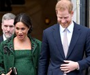 Surprise! Duchess Meghan just made an unexpected appearance at a christening with Prince Harry