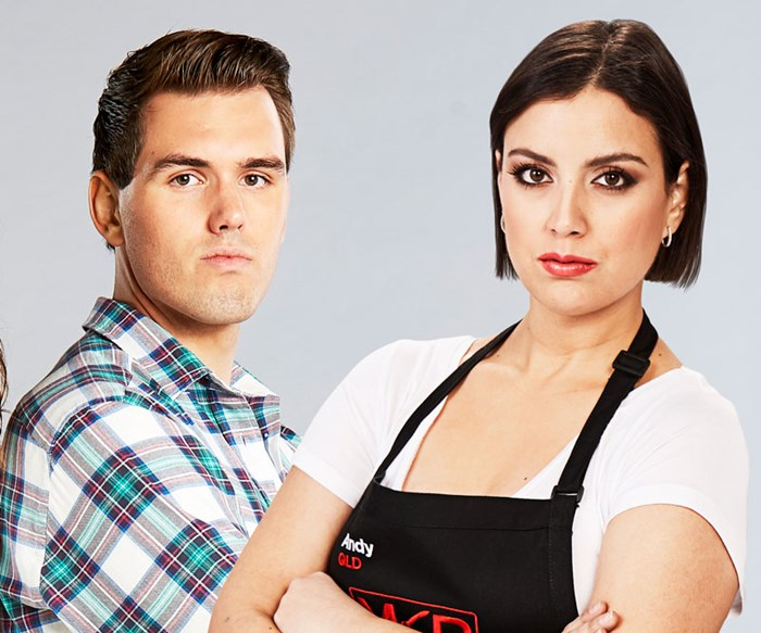 My Kitchen Rules' Andy has had her fill of Josh's poor behaviour