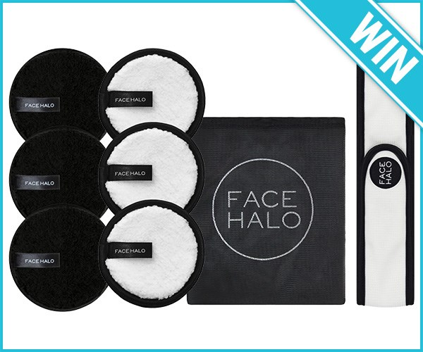 Win 1 OF 4 Face Halo Prize Packs!