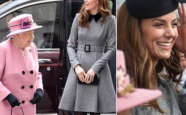 Duchess Catherine and Queen Elizabeth did the sweetest thing during their first joint appearance