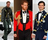 All the times your favourite royals rocked a uniform, get ready to swoon!