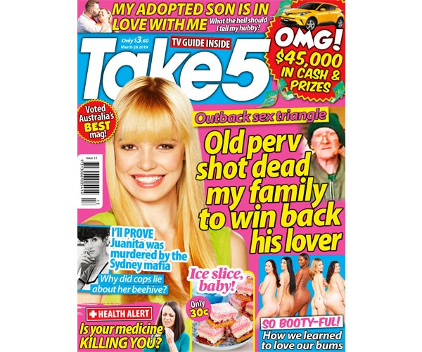 Take 5 Issue 13 Coupon - on sale now!