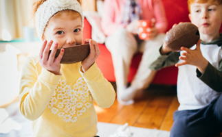 What day is the right day to give your kids their Easter eggs?
