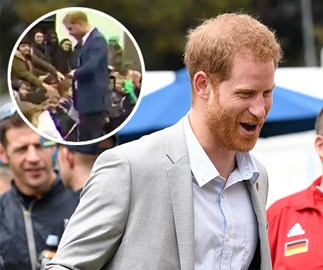 Prince Harry just did the most hilarious impression of Duchess Meghan and it was caught on camera