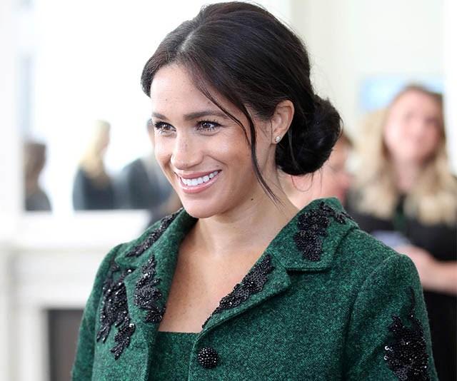 Meghan Markle wearing custom erdem outfit commonwealth day 2019