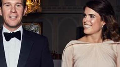 This breathtaking unseen picture of Princess Eugenie's wedding dress will make your jaw drop