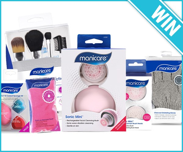 Win 1 OF 3 Manicare Prize Packs