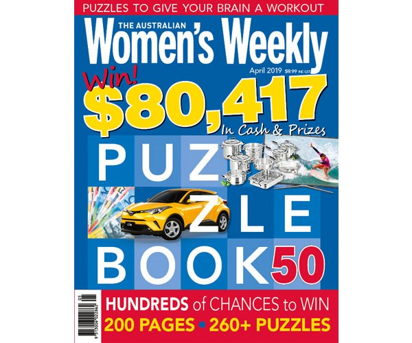 The Australian Women's Weekly Puzzle Book Issue 50