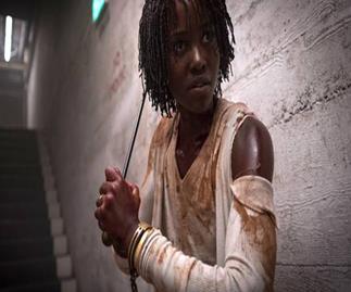 Lupita Nyong'o stars in Us as Adelaide Thomas.