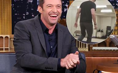 Hugh Jackman just blew our minds in this tap dancing video and we can't look away